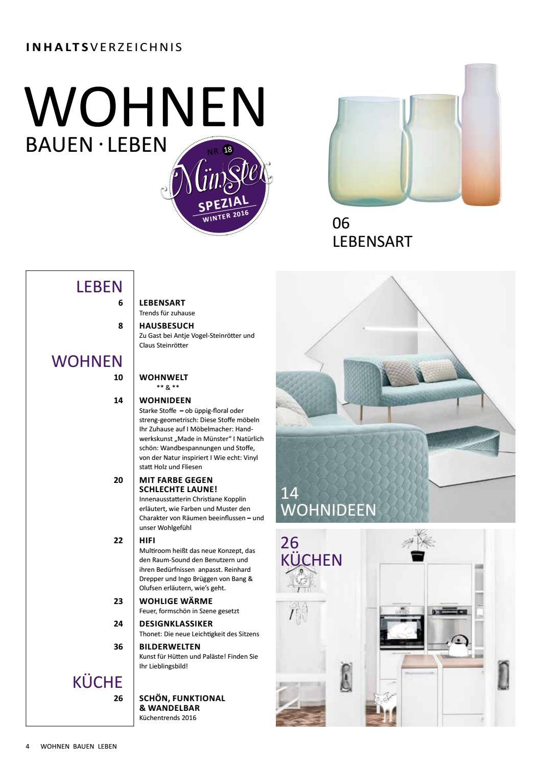 Wohnen Bauen Leben MÜNSTER SPEZIAL 18 by Tips Verlag GmbH - issuu