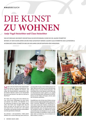 wohnen bauen leben m nster spezial 18 by tips verlag gmbh issuu. Black Bedroom Furniture Sets. Home Design Ideas