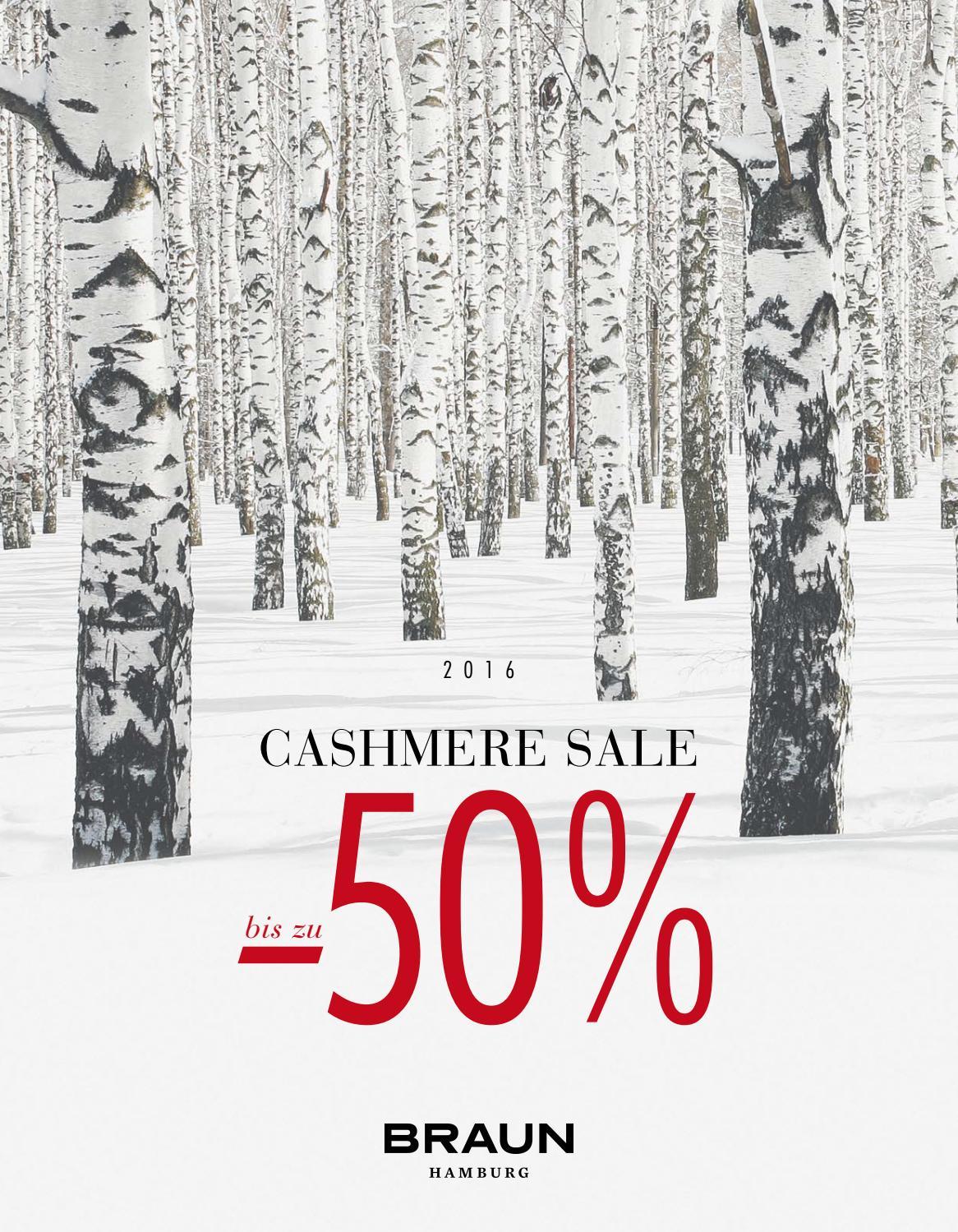 cashmere winter sale 2016 by braun hamburg gmbh co kg issuu. Black Bedroom Furniture Sets. Home Design Ideas