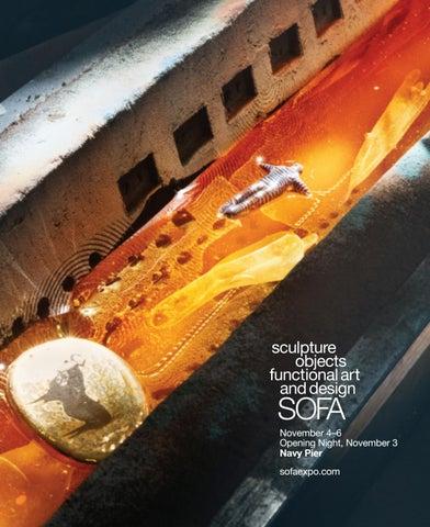 Glenn Wolffs Evocative Sculpture >> Sofa Chicago 2016 Catalog By Sofa Chicago Produced By Urban