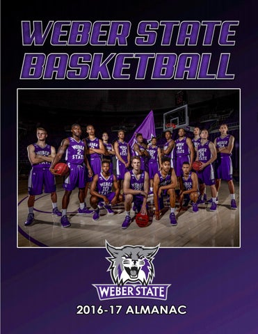 2016-17 Weber State Men s Basketball Almanac by Weber State Athletic ... 844da5fba