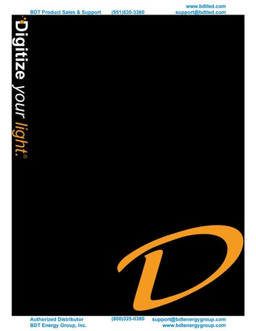 bdt led showcases deco led lighting catalog by bdt energy group issuu