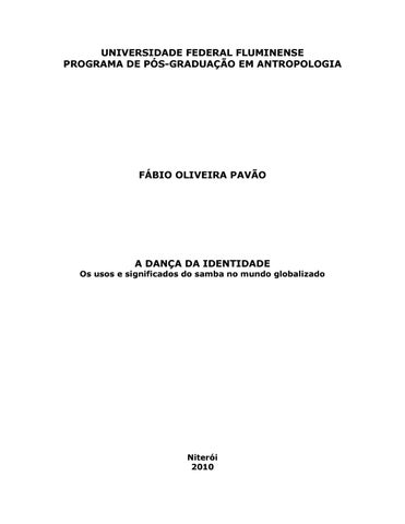 46091f86ee UNIVERSIDADE FEDERAL FLUMINENSE PROGRAMA DE PÓS-GRADUAÇÃO EM ANTROPOLOGIA