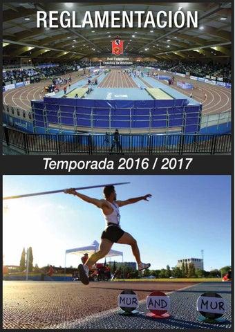 8ed69baa64930 Reglamentación RFEA 2016 2017 by Comite Galego Xuices Atletismo - issuu