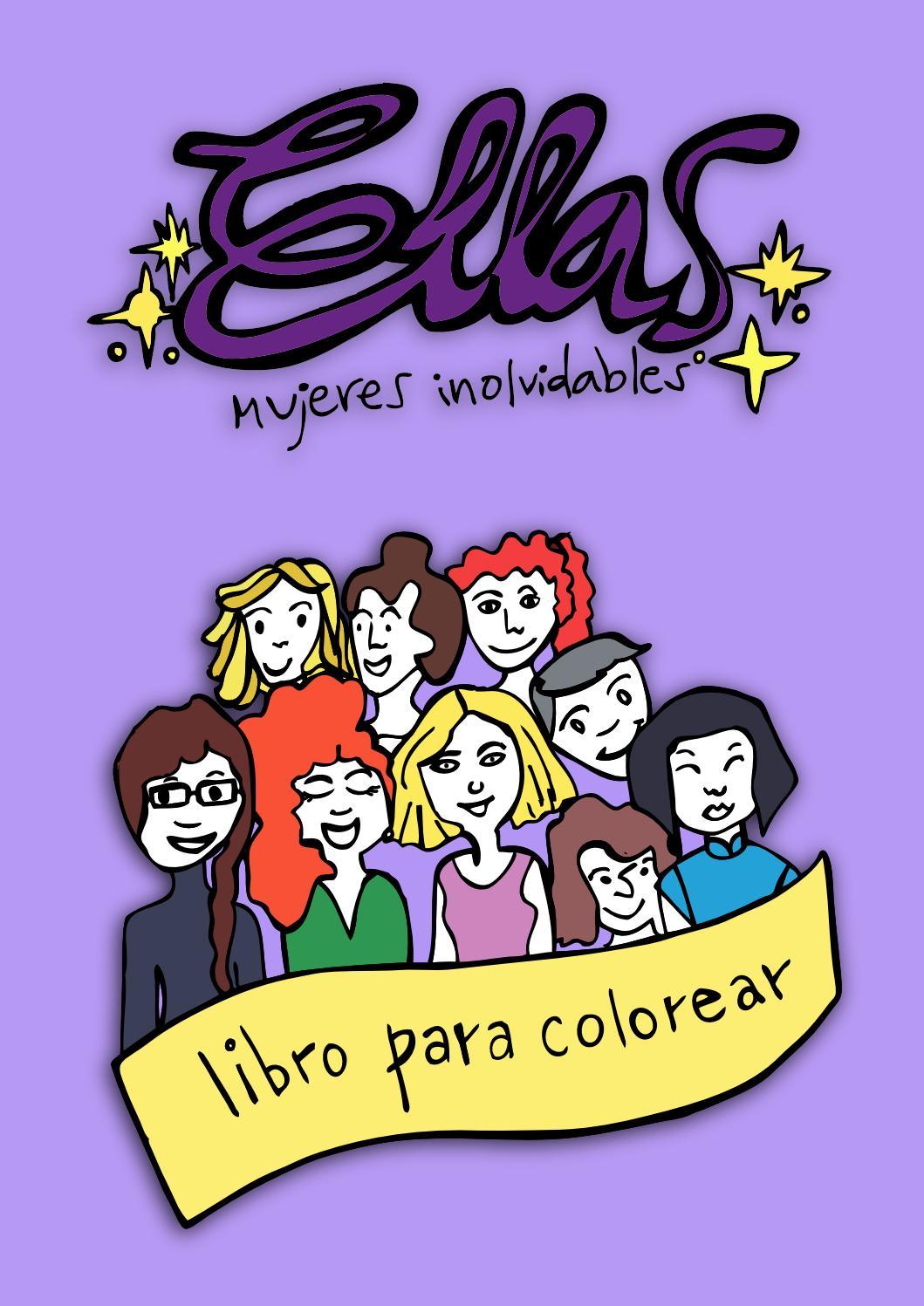Ellas - mujeres inolvidables. Libro para colorear. (2016) by Ellas ...