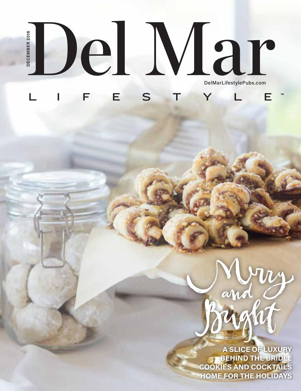 Del Mar December 2016 by Lifestyle Publications - issuu