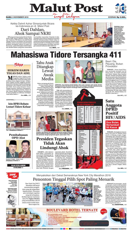 Malut Post 09 November 2016 By Malut Post Issuu