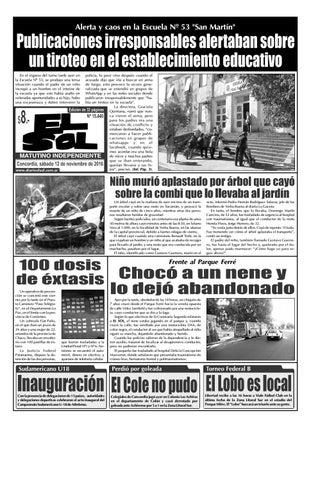 Diario El Sol (Sábado 12 noviembre 2016) by Diario El Sol - issuu b6d5bcaa375c