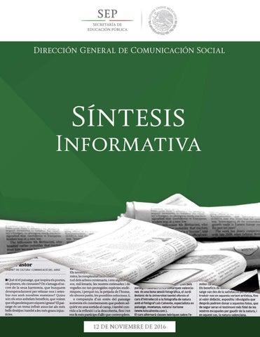 12 noviembre 2016 by secretaría de educación pública issuu
