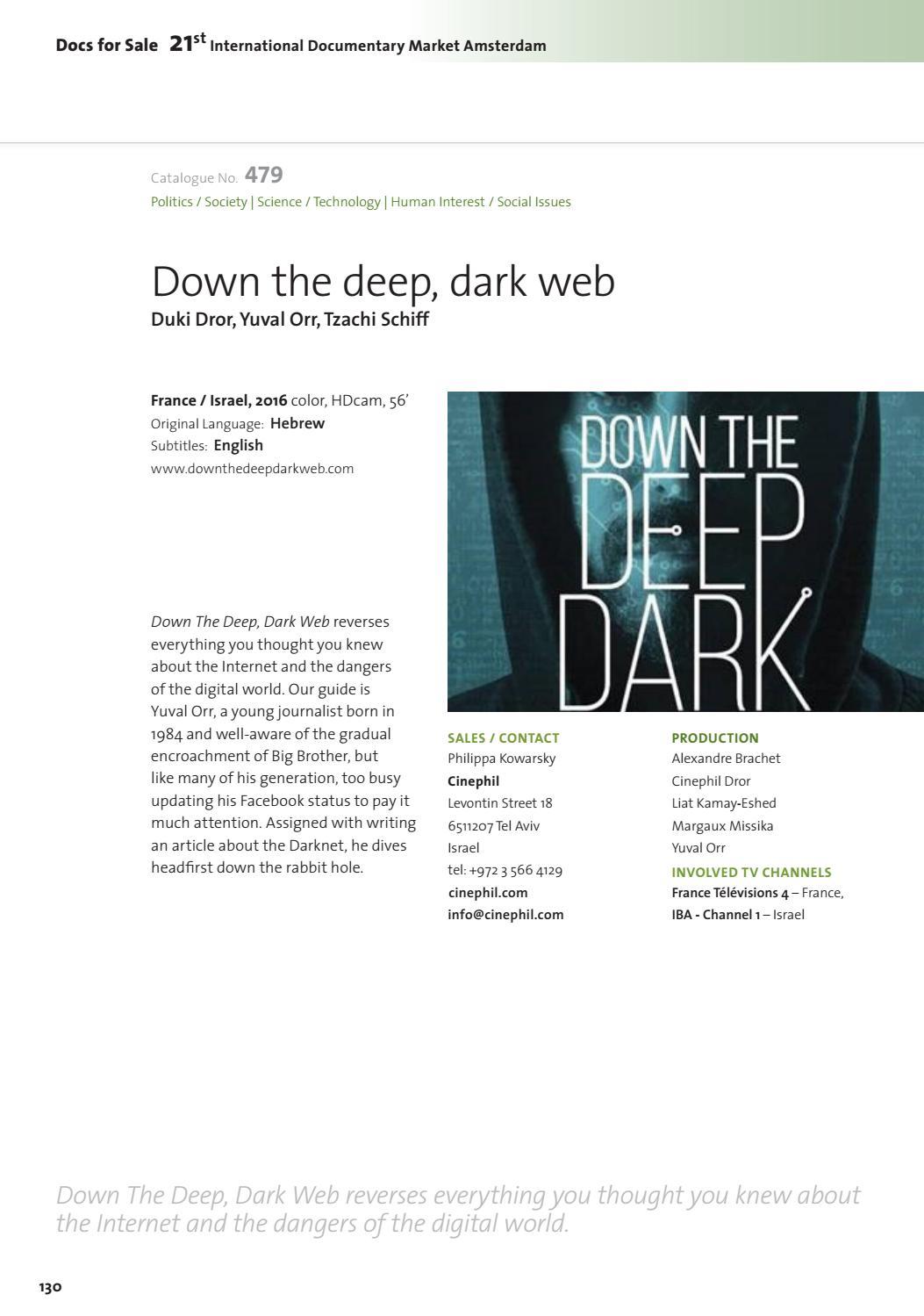 down the deep dark web