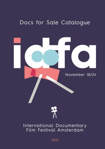 Docs for Sale Catalogue 2014 by IDFA International Documentary Film  Festival Amsterdam - issuu