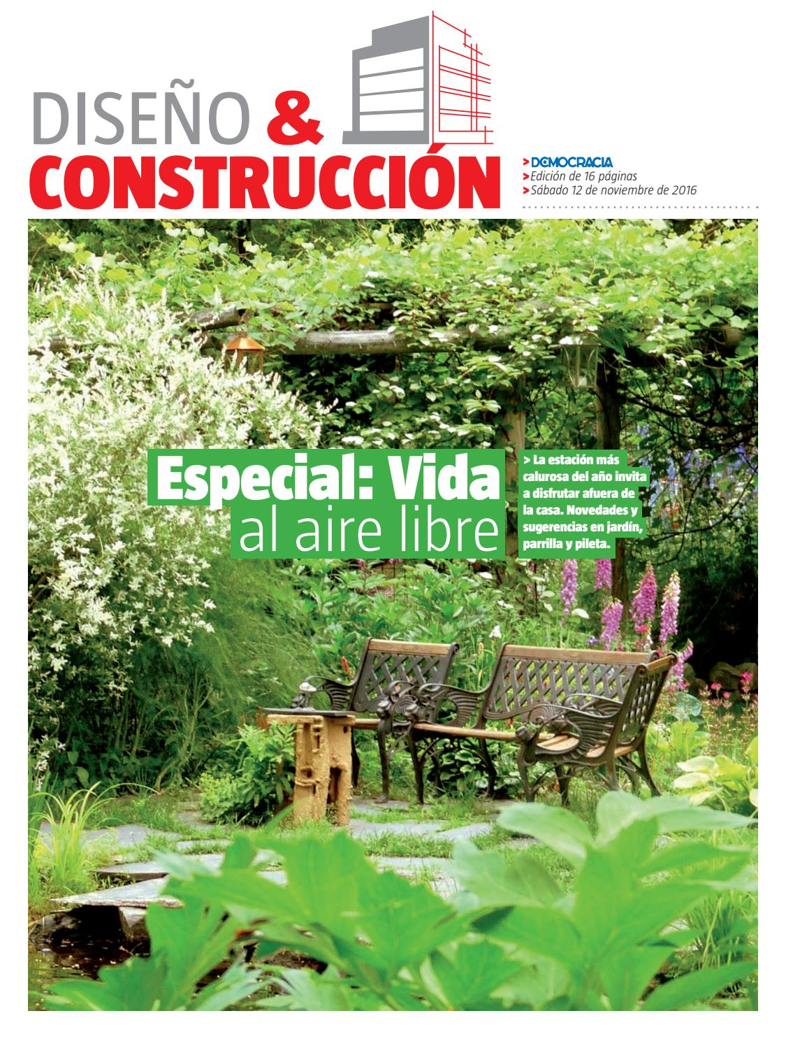 Diseño y Construcción 12-11-16 by Democracia - issuu