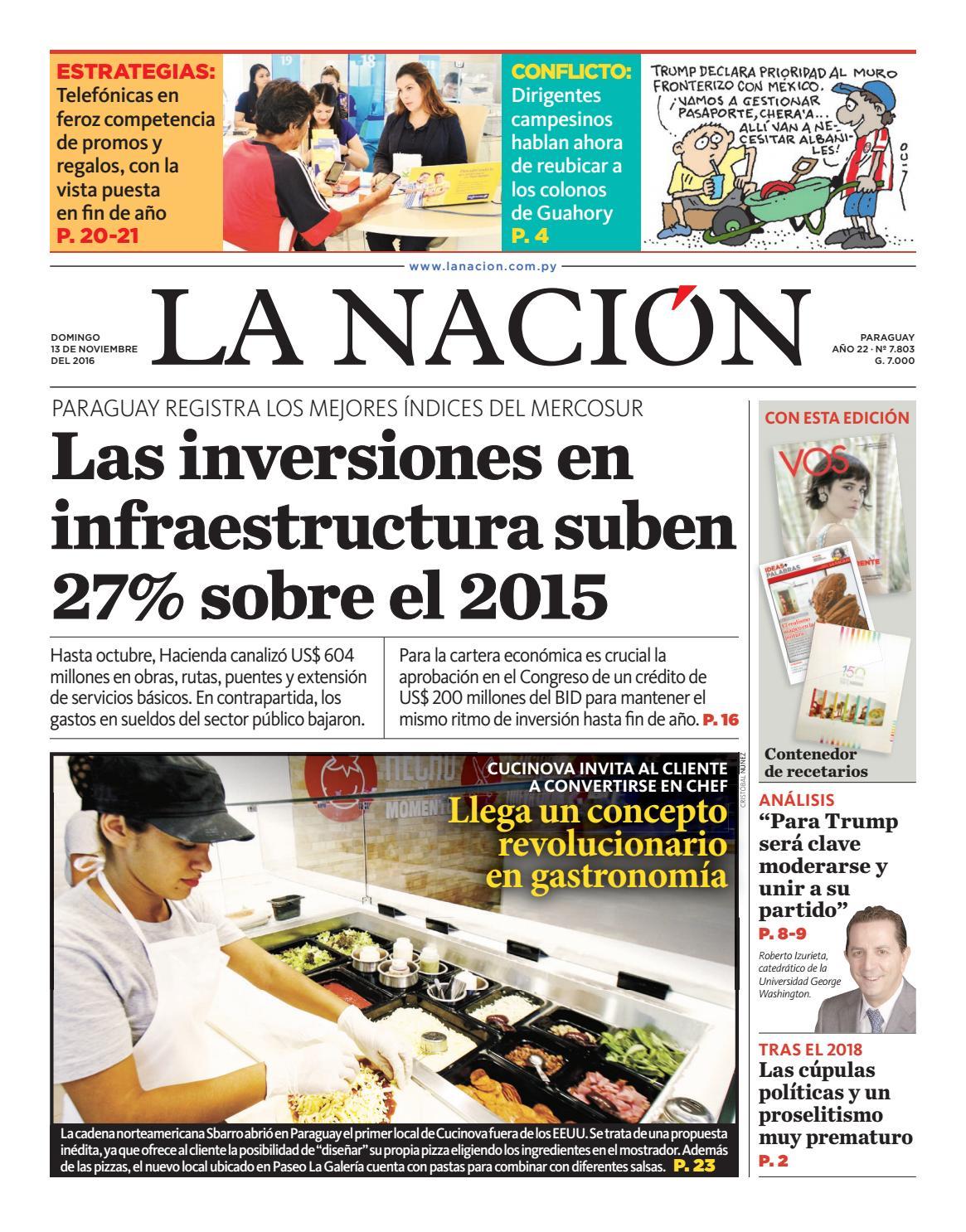 DIARIO LA NACIÓN EDICIÓN 7.803 by La Nación - issuu