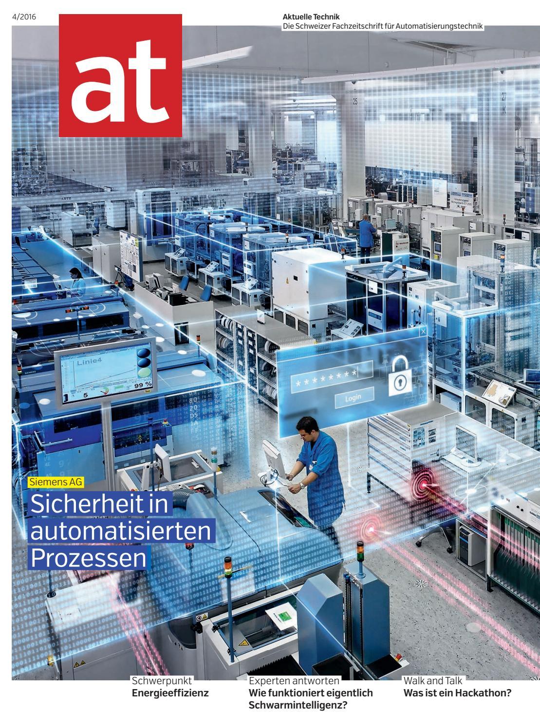 at - Aktuelle Technik 04 2016 by BL Verlag AG - issuu