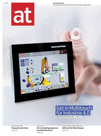 at - Aktuelle Technik 05 2016 by BL Verlag AG - issuu