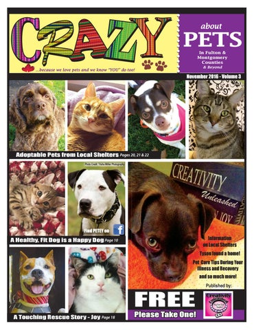 Crazy About Pets third edition by Creativity Unleashed - issuu