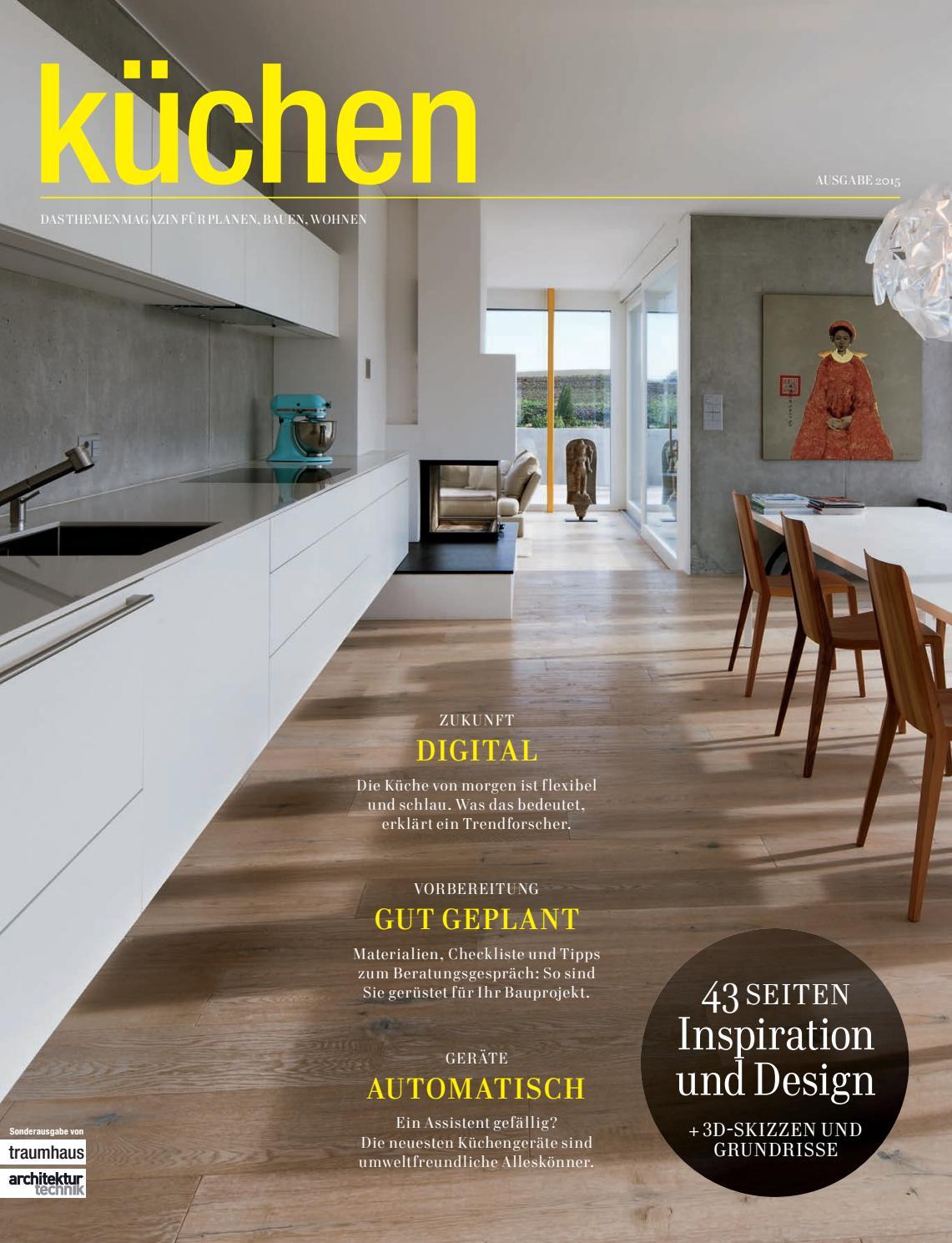Hervorragend Traumhaus Küchen 2015 By BL Verlag AG   Issuu