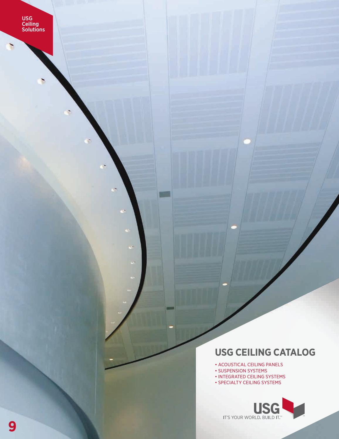 Usg Ceilings Systems Catalog En Sc2000 By Sky0 5 Issuu