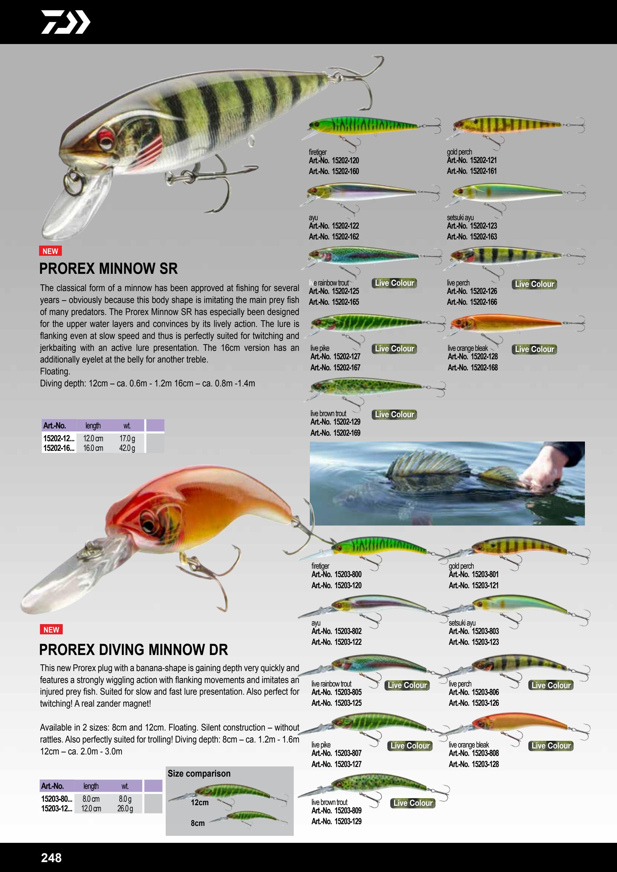 live brown trout Prorex Minnow 160SR 16cm Daiwa