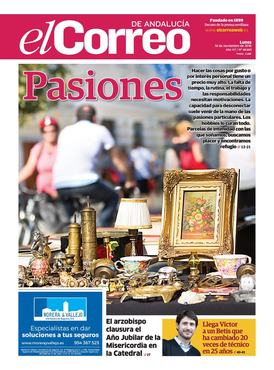 923a79d28 14 11 2016 El Correo de Andalucía by EL CORREO DE ANDALUCÍA S.L. - issuu