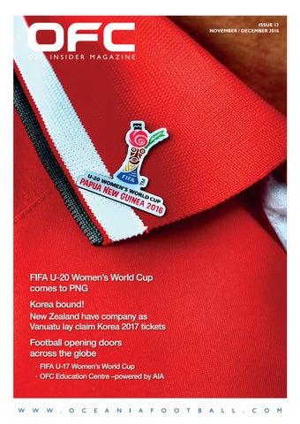 OFC Insider Magazine Issue 12 | Oceania Football Confederation