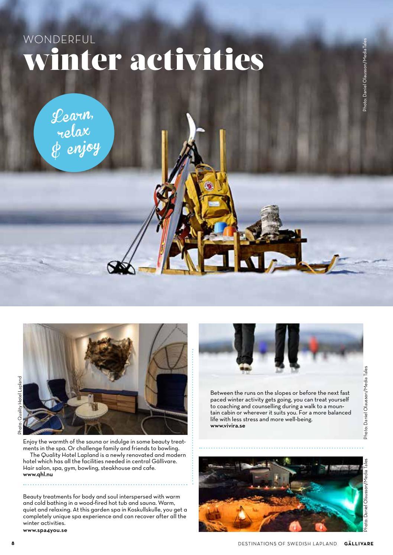 destinations of swedish lapland gällivare winter spring winter