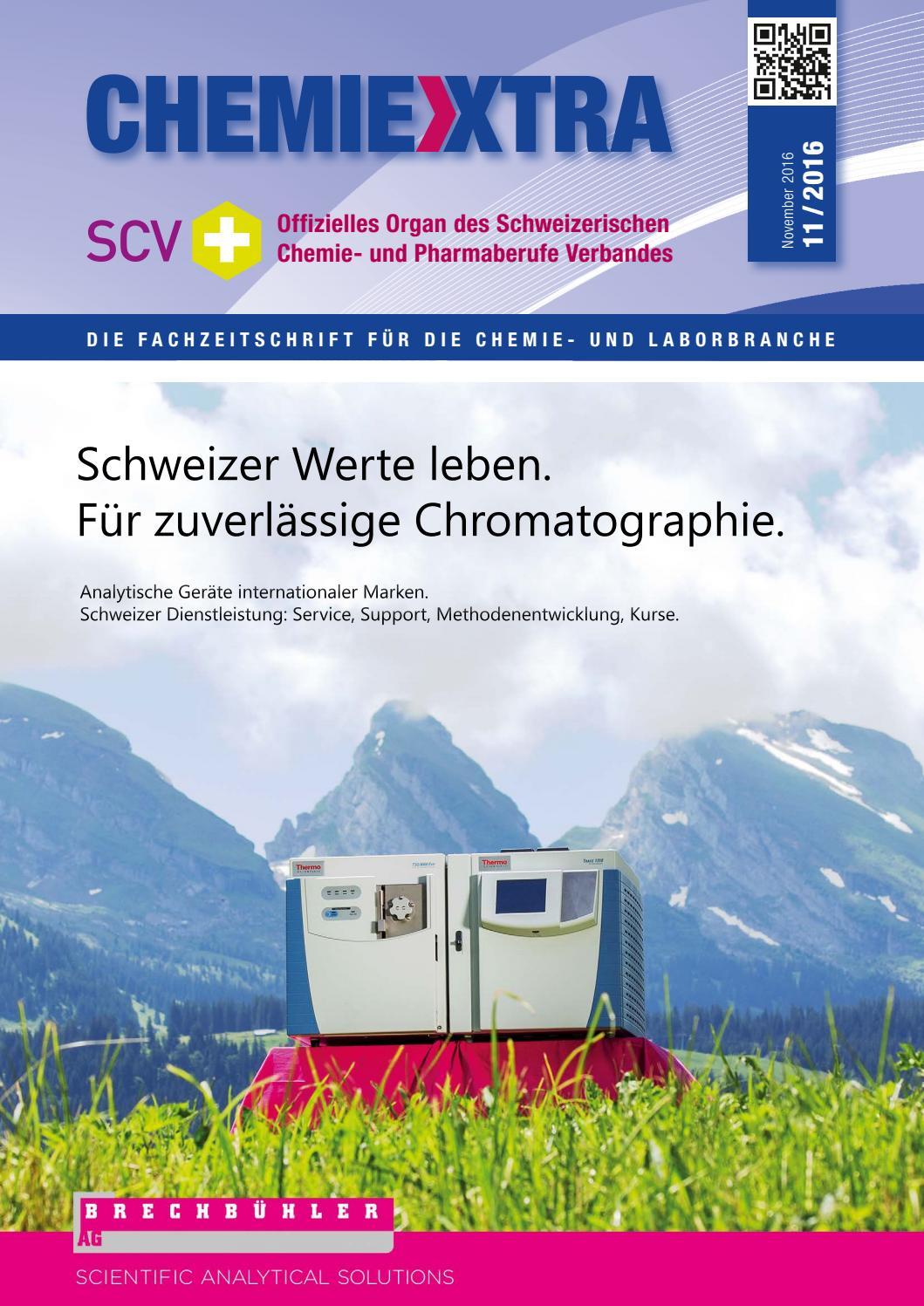 Chemiextra 11 2016 by SIGWERB GmbH - issuu