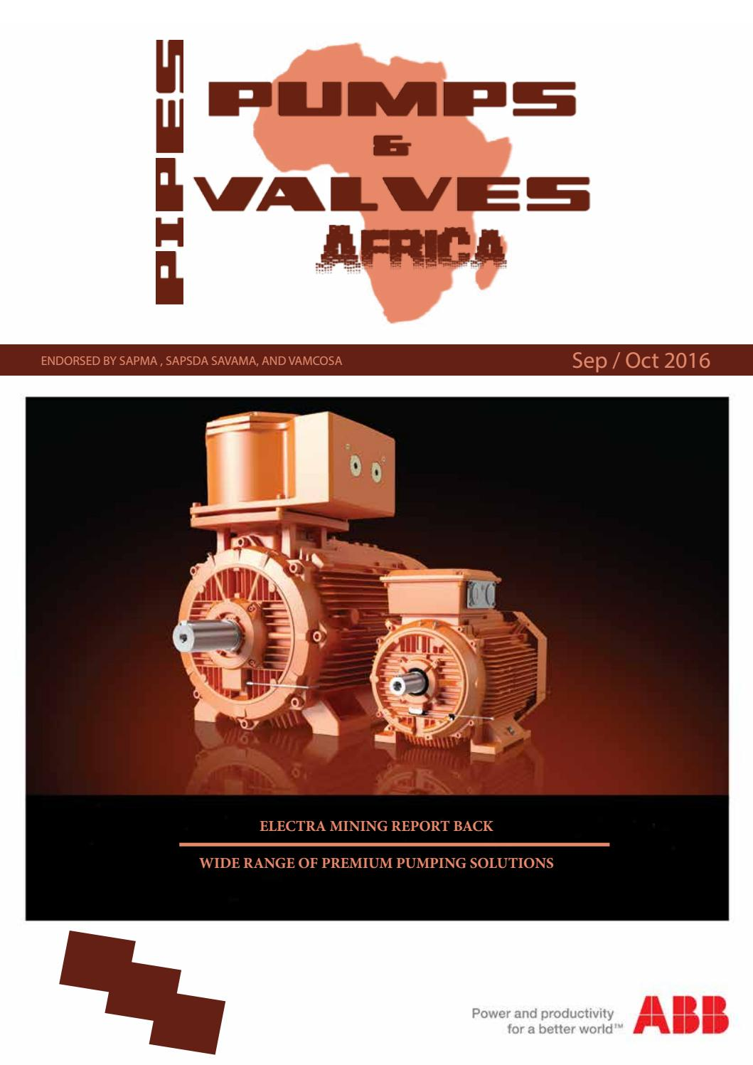 Pipes  Pumps And Valves Africa Sept    Oct 2016 By Lifting