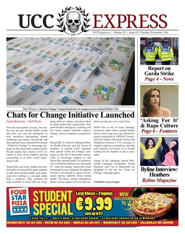 Ucc express vol 20 issue 5 by ucc express issuu page 1 malvernweather Image collections