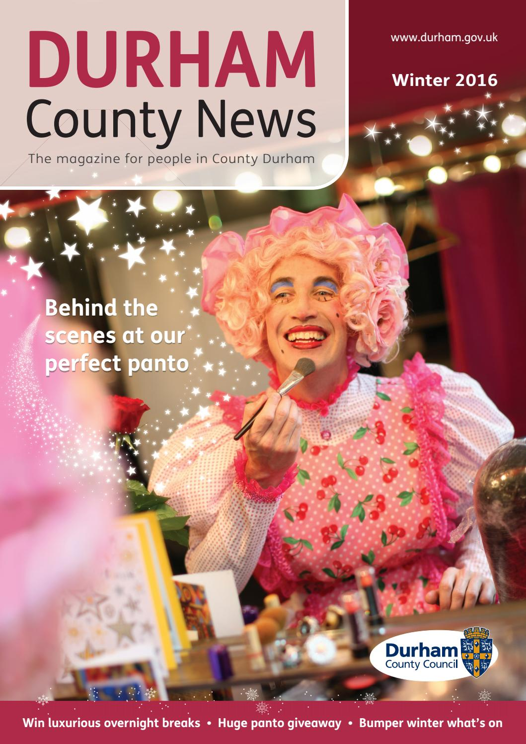 DCC Durham County News Winter 2016 by DCC Design and Print
