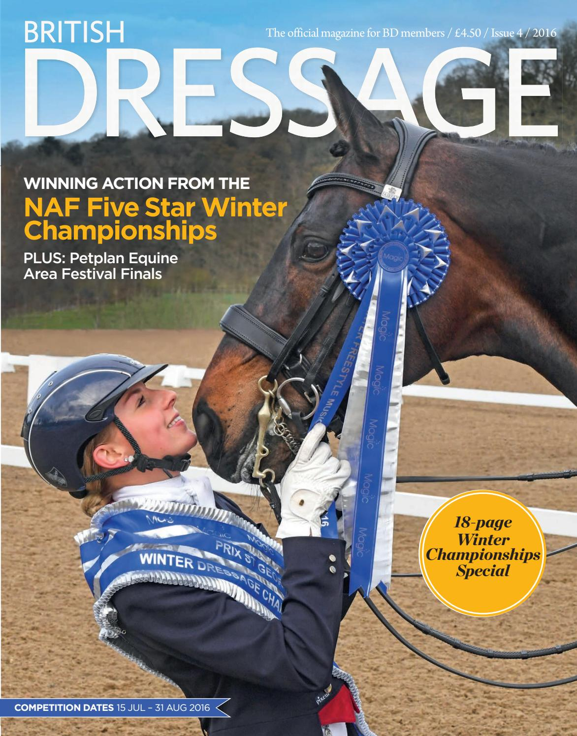 british dressage issue 4 by british dressage issuu