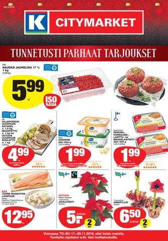 lego joulukalenteri 2018 citymarket Citymarket vko46 by Kaleva Oy   issuu lego joulukalenteri 2018 citymarket