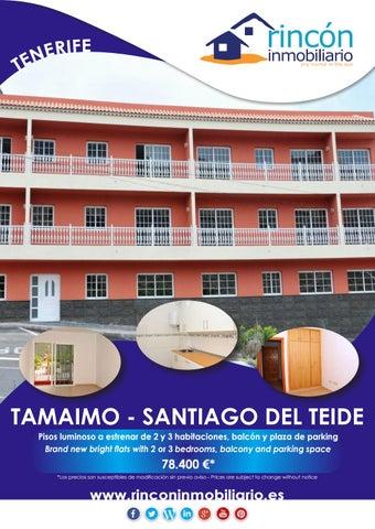 Sold vendidos brand new flats pisos a estrenar tamaimo tenerife by grupo barrag n issuu - Pisos de bancos tenerife sur ...