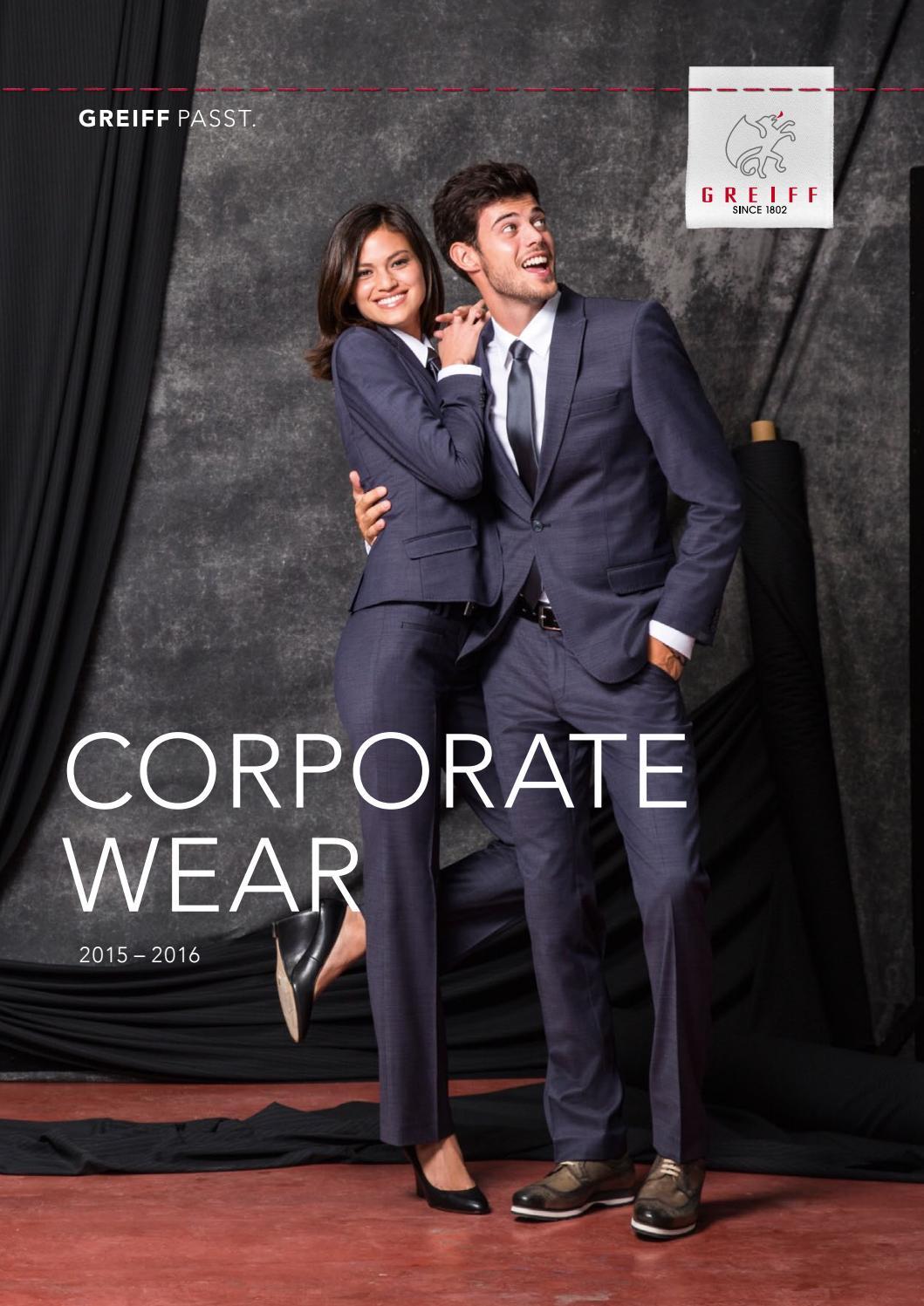 Greiff Corporate Wear Premium Damen Hose Regular Fit Anthrazit