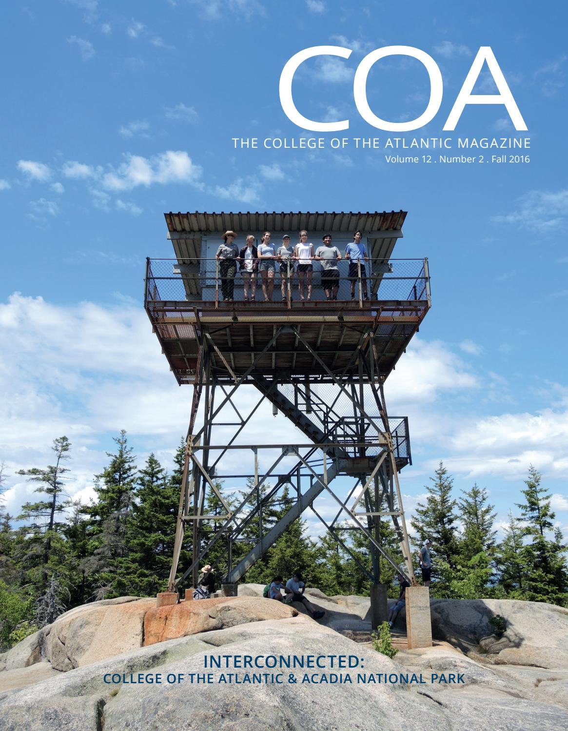 e841b1012681 COA Magazine Fall 2016 by College of the Atlantic - issuu