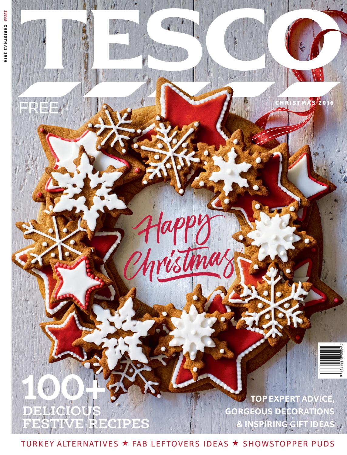 Tesco magazine christmas 2016 by tesco magazine issuu negle Gallery