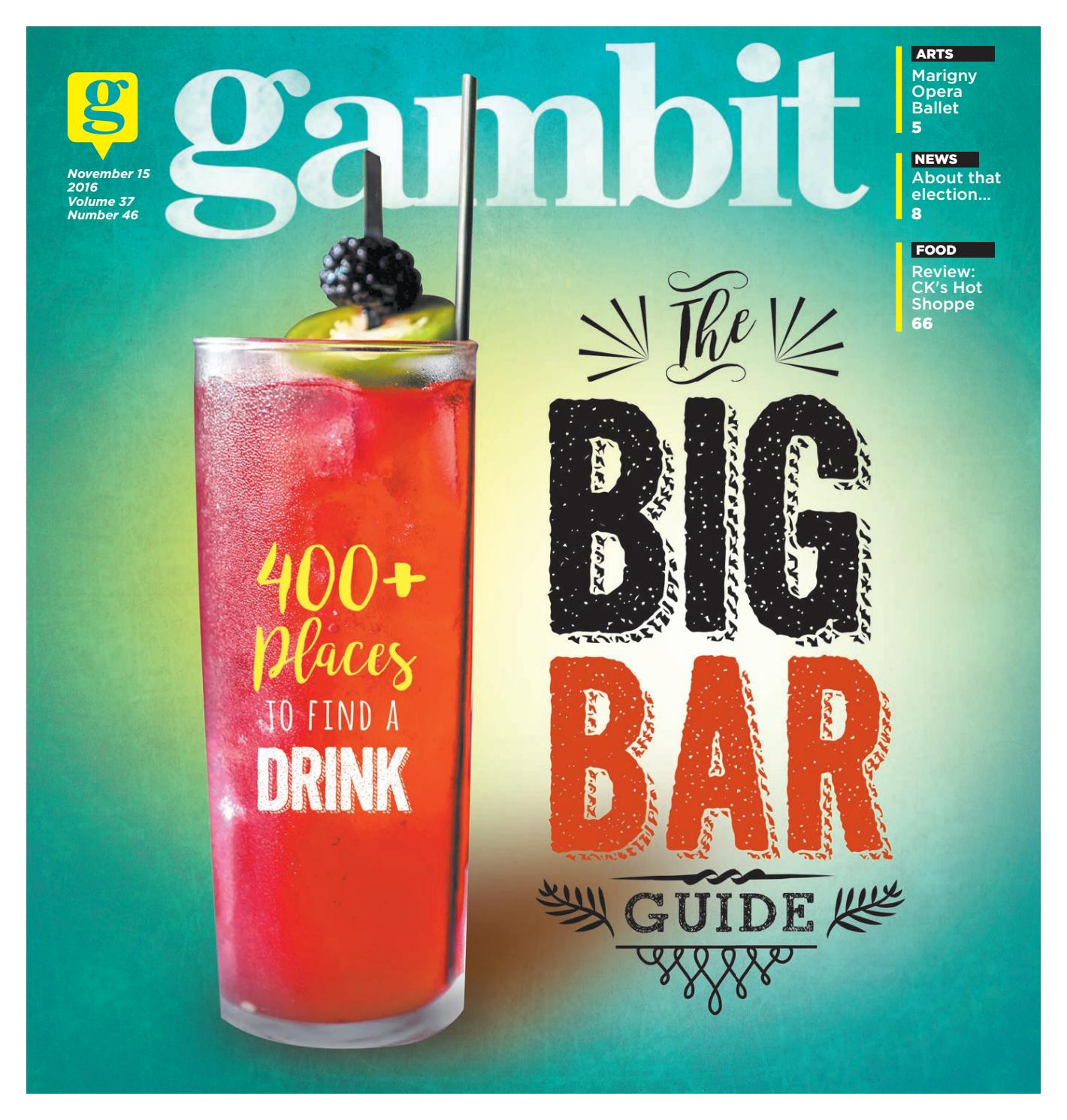 Gambit New Orleans, November 15 2016 by Gambit New Orleans - issuu feab9c451bb