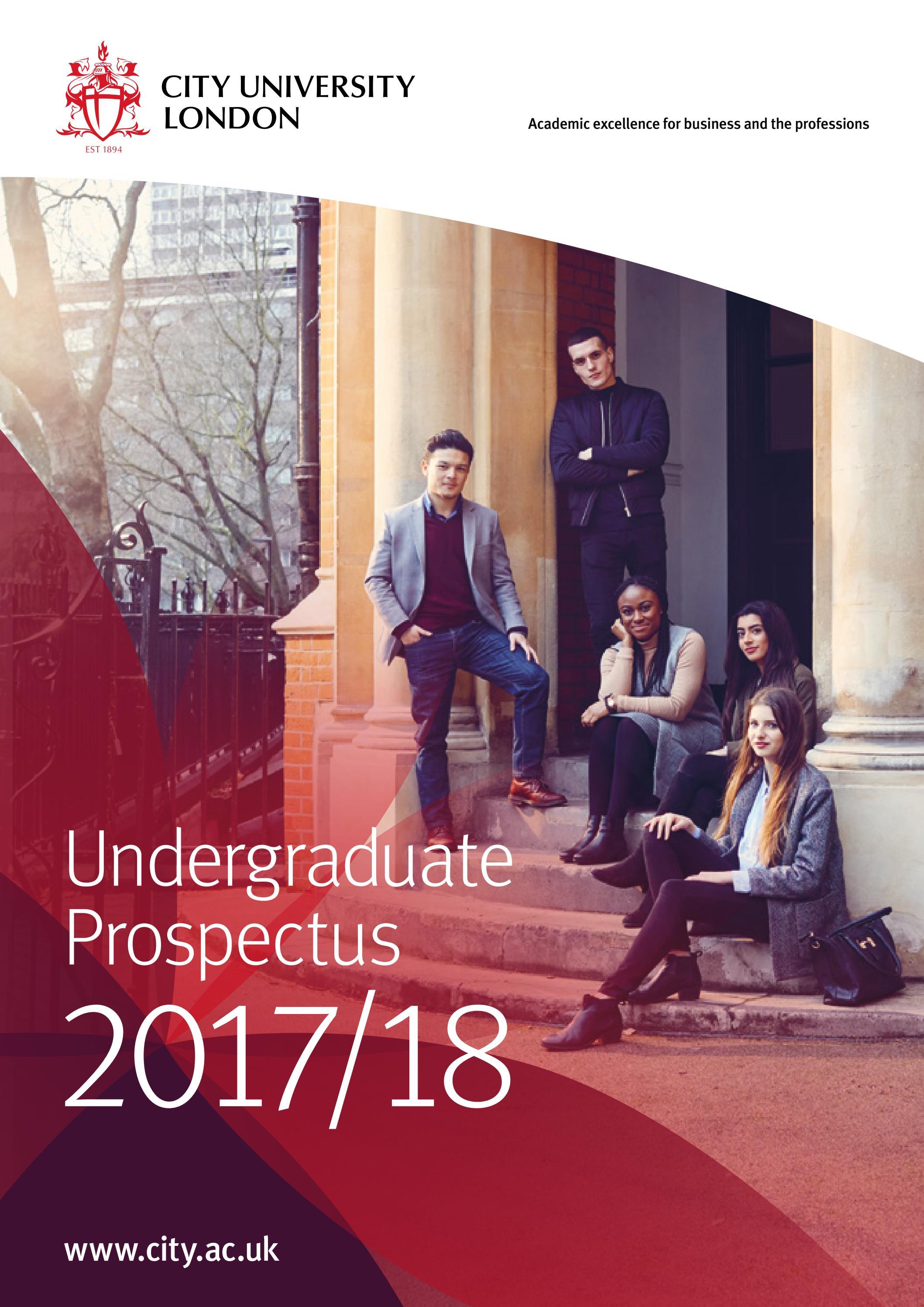City University London 2017/18 Undergraduate Prospectus by City, University of London - Issuu
