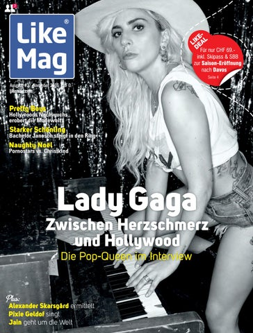 Lady Gaga Arsch Schüsse