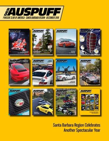 DEC 2016 Der Auspuff by Santa Barbara Region - Porsche Club