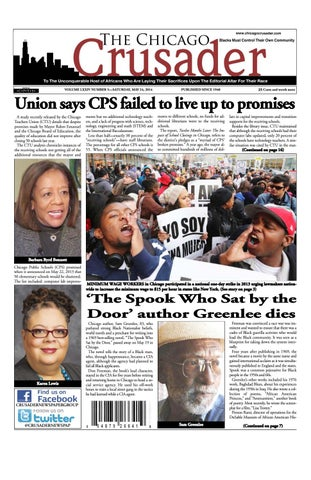 Chicago Crusader 05/24/14 E-Edition by The Crusader