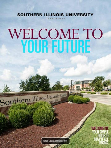Southern Illinois University Carbondale Welcome Kit 2017