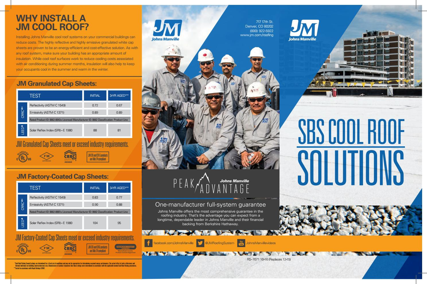 Jm Crg Trifold Brochure By Johns Manville Issuu