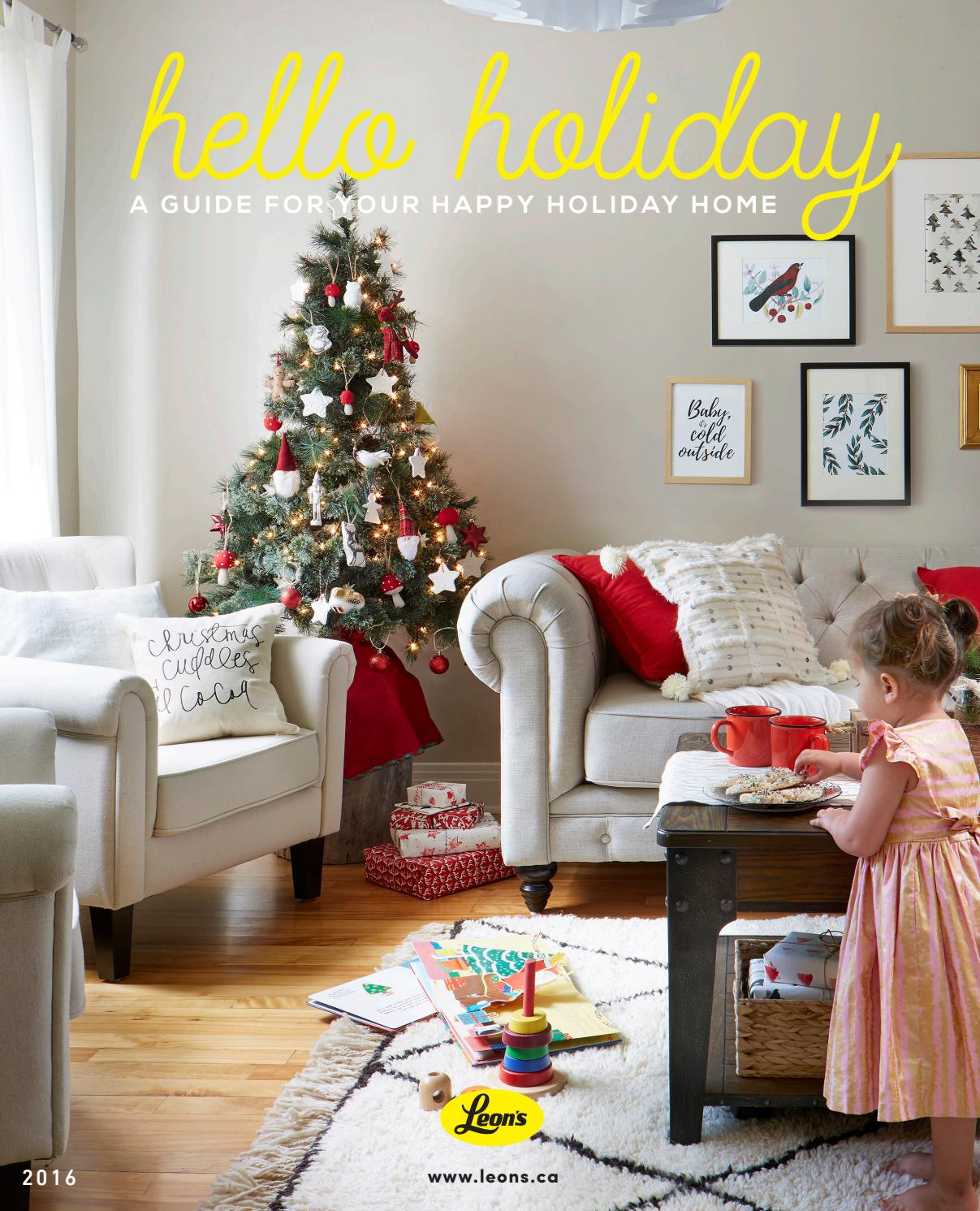 Leon S Hello Holiday 2016 By Leon S Furniture Issuu