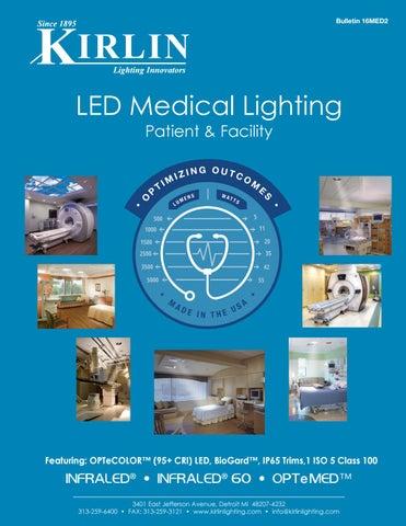 Kirlin\'s LED Medical Lighting Catalog 16MED2 by The Kirlin Company ...