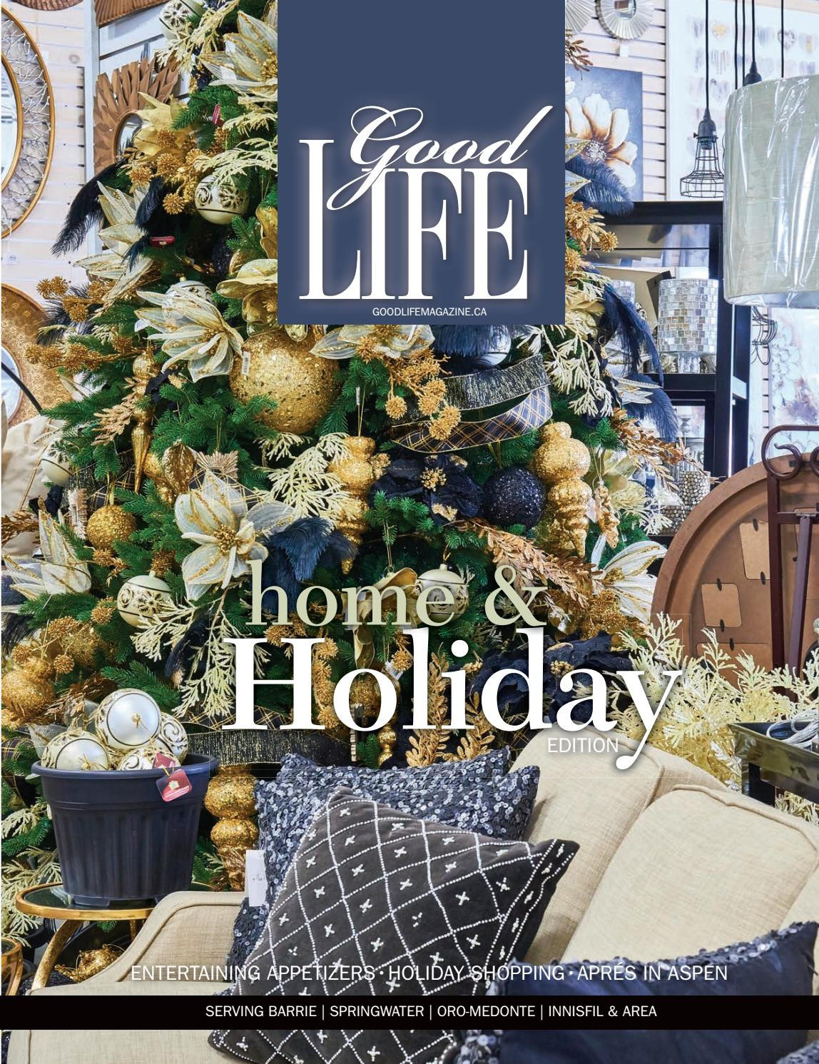GoodLife Barrie NovemberDecember Holiday Edition 2016 by