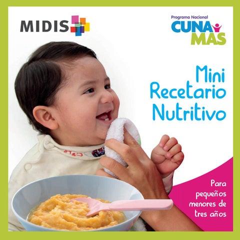 Mini recetario nutritivobebes by Vanessa López Vera Issuu
