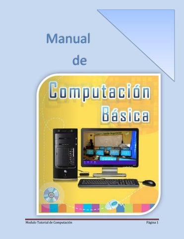 Calaméo manual de computación básica de jayro.
