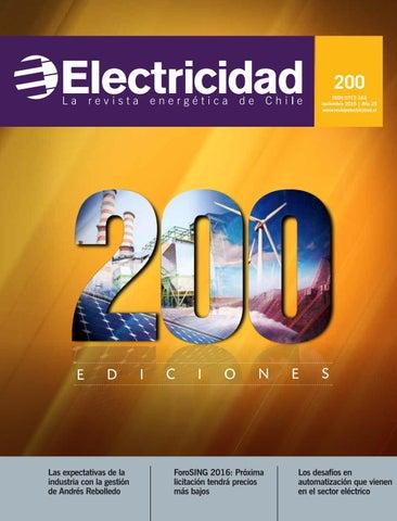 e4a9ed562c881 Revista ELECTRICIDAD 200 noviembre 2016 by Editec - issuu