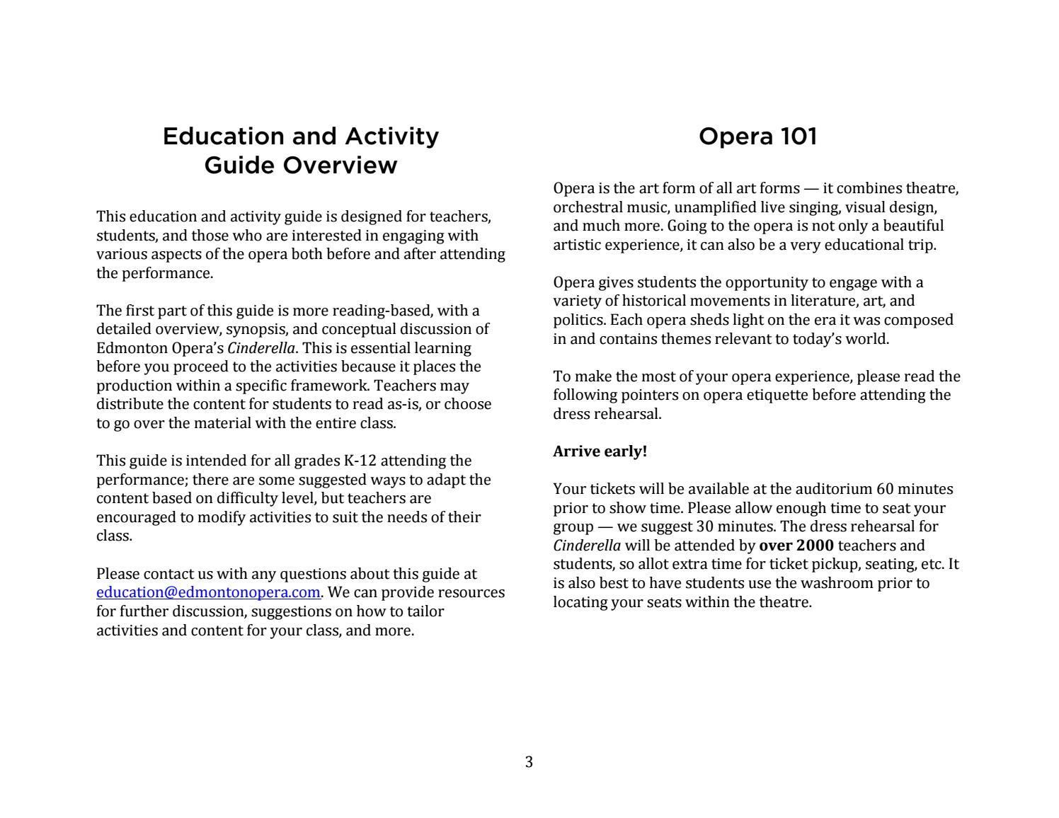cinderella education activity guide by edmonton opera issuu rh issuu com